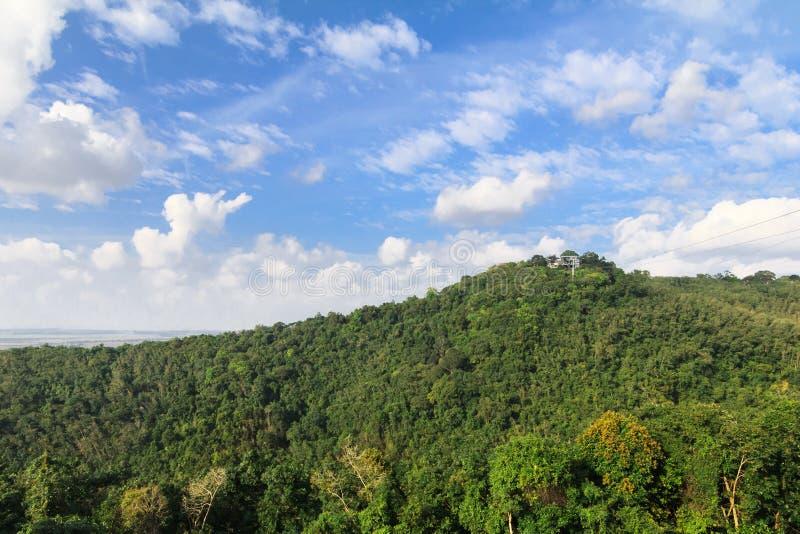 Cielo de la montaña fotos de archivo libres de regalías