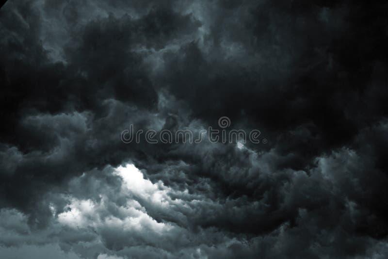 Cielo de la tormenta fotos de archivo