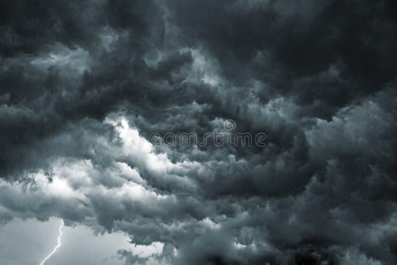 Cielo de la tormenta imagen de archivo libre de regalías