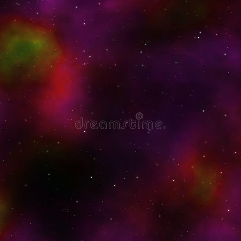 Cielo de Outerspace ilustración del vector