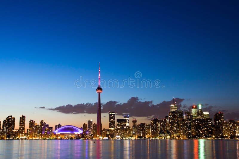 Cielo de Toronto fotos de archivo