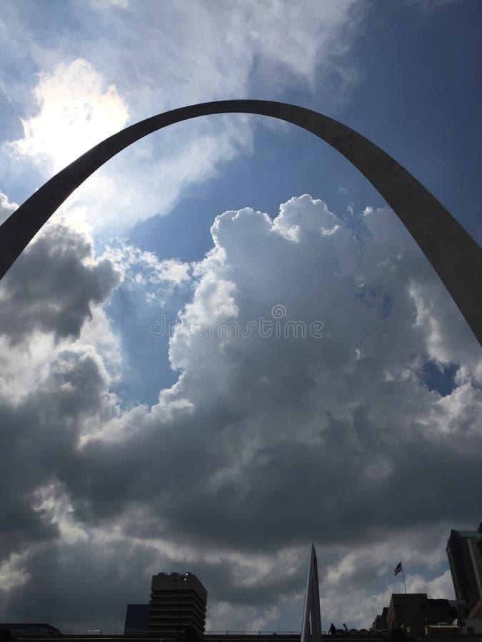 Cielo del arco fotografía de archivo libre de regalías