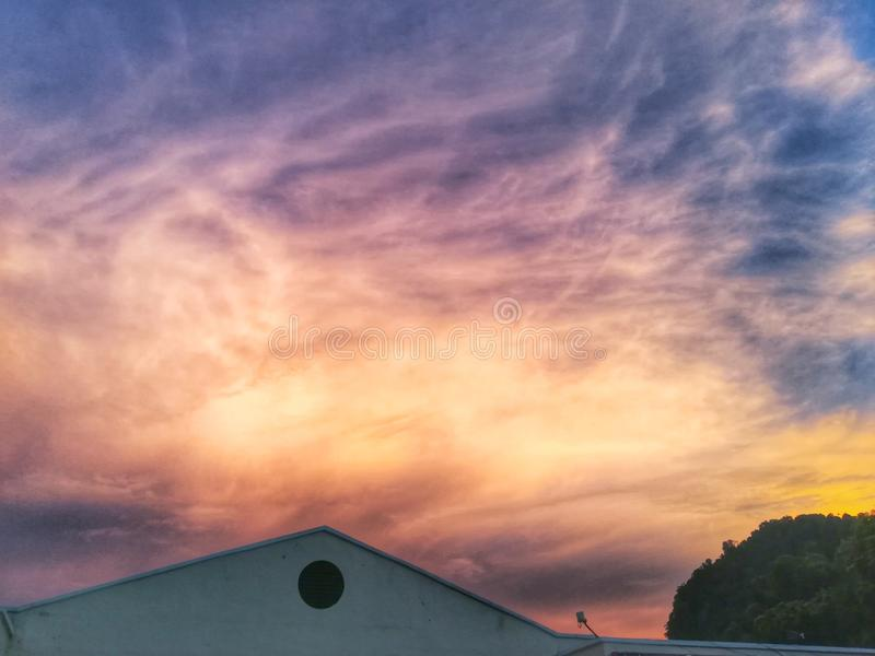 Cielo del cielo foto de archivo