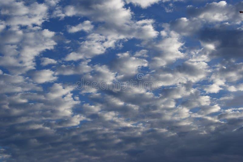 cielo del cotone fotografia stock