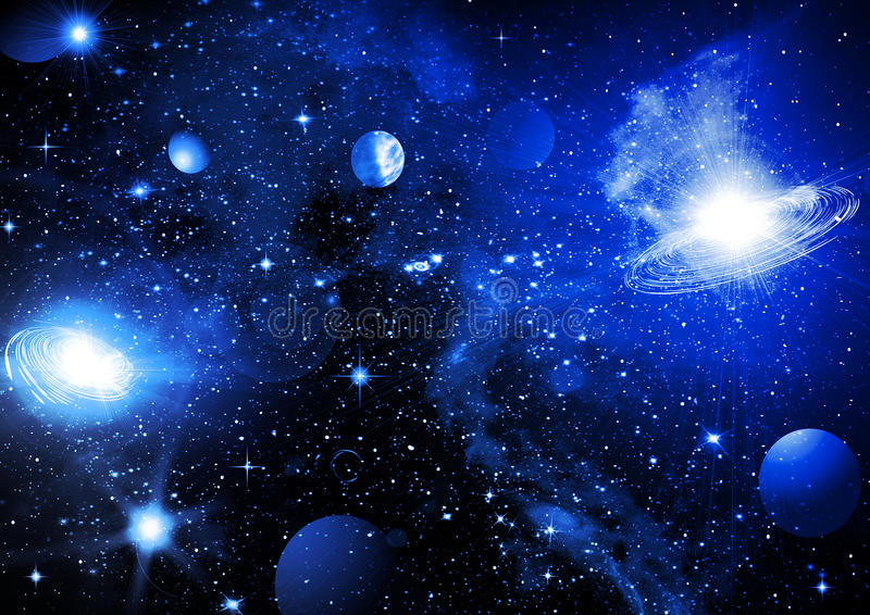Cielo del espacio libre illustration