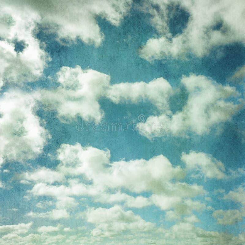 Cielo del Grunge imágenes de archivo libres de regalías