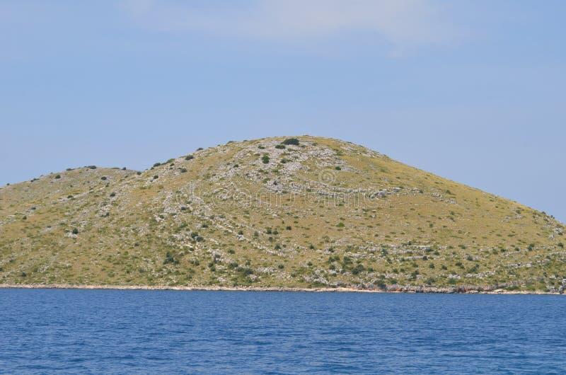 Cielo del mare della montagna fotografie stock