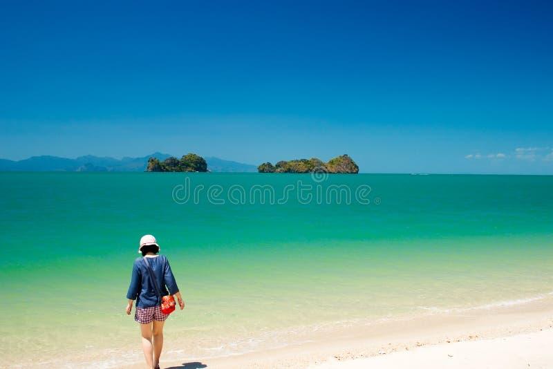 Cielo del mare di Langkawi fotografie stock libere da diritti