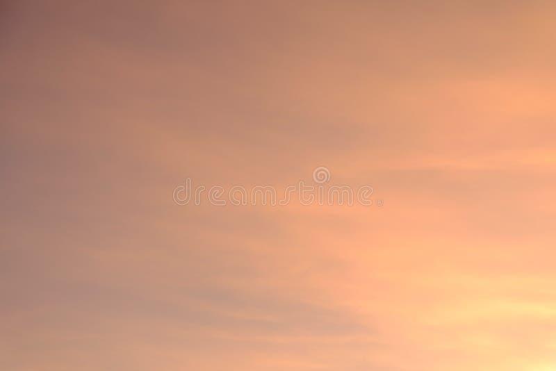 Cielo del pastello dell'arcobaleno immagini stock