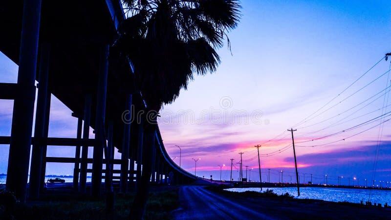 Cielo del sur de Tejas imágenes de archivo libres de regalías