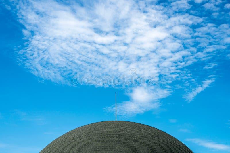 Cielo del tejado en Tailandia foto de archivo libre de regalías