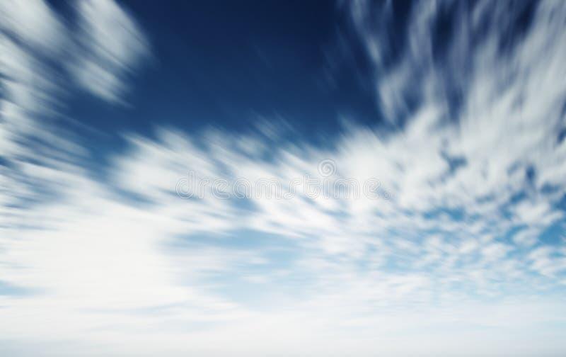 Cielo del verano y fondo natural de las nubes imagen de archivo libre de regalías