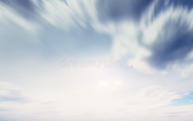 Cielo del verano y fondo natural de las nubes imagen de archivo