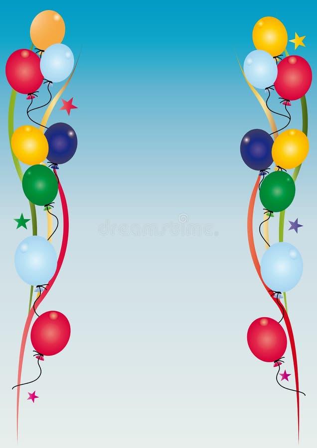 Cielo Dell Invito Di Compleanno Fotografie Stock Libere da Diritti