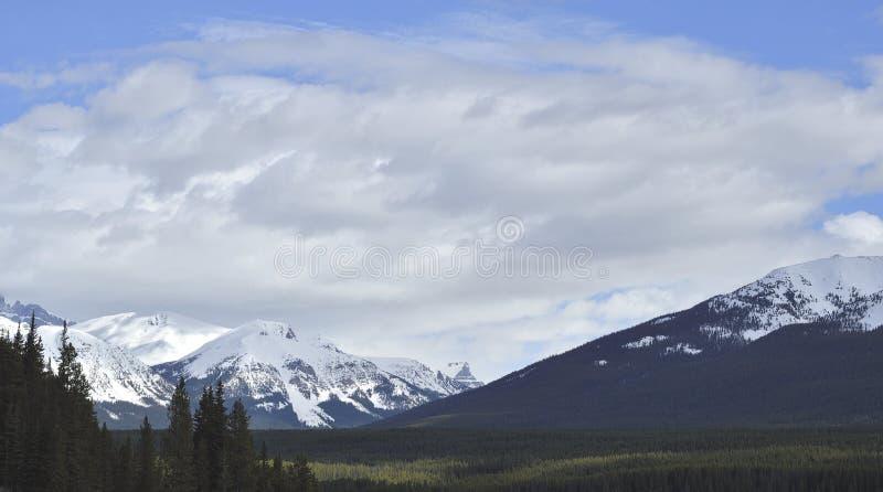 Cielo della montagna fotografia stock