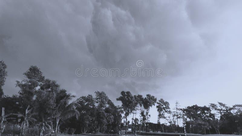 Cielo della nuvola immagini stock