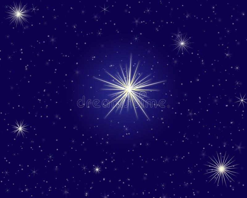 Cielo della stella immagine stock libera da diritti
