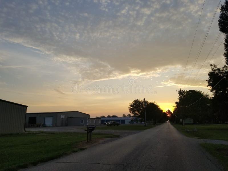 Cielo delle nuvole fotografie stock libere da diritti