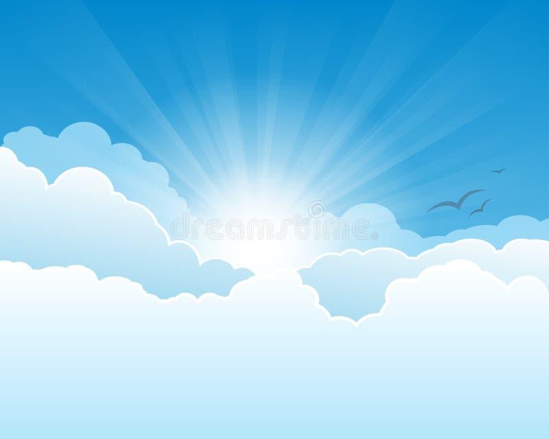 Cielo di cielo royalty illustrazione gratis