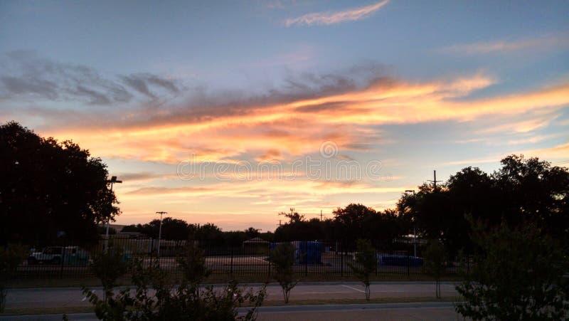 Cielo di Dallas fotografia stock libera da diritti