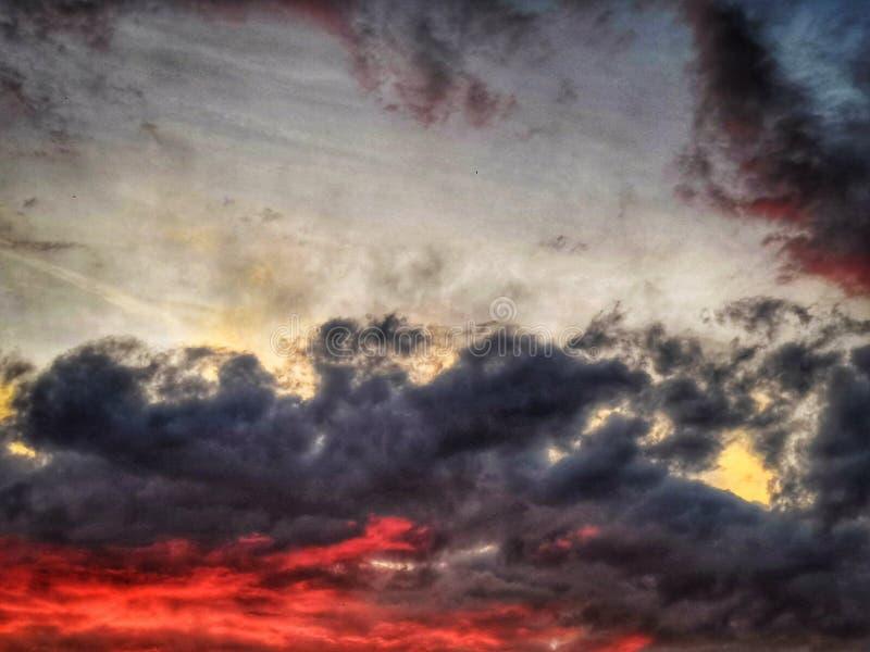 cielo di estate fotografie stock libere da diritti