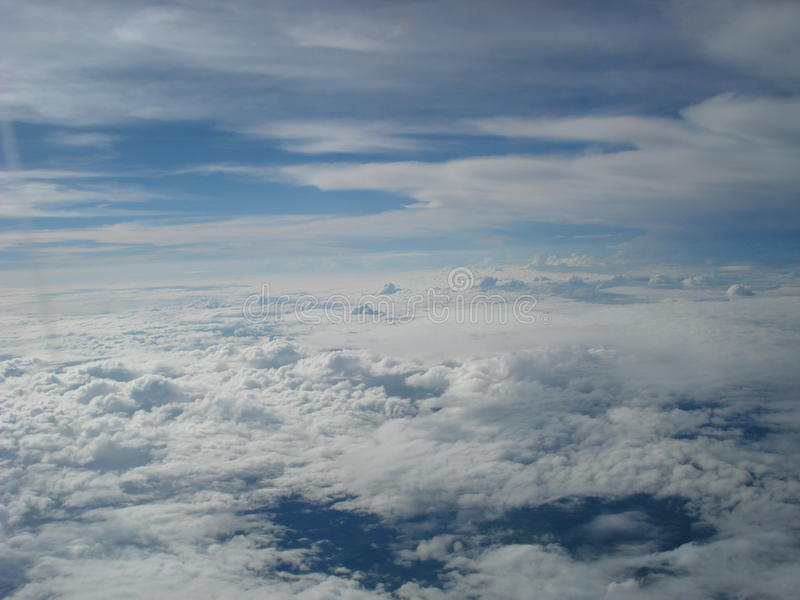 Cielo di Fortaleza fotografie stock libere da diritti