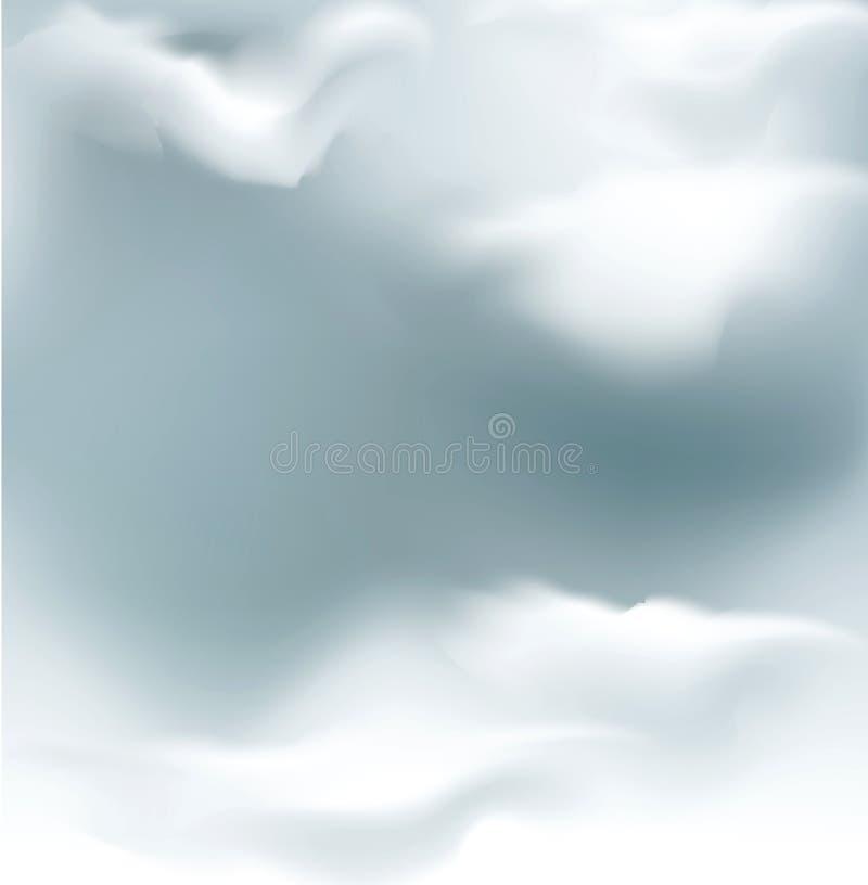 Cielo di grey di vettore illustrazione vettoriale