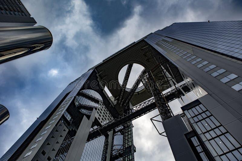 Cielo di Umeda che costruisce Osaka Japan immagini stock libere da diritti