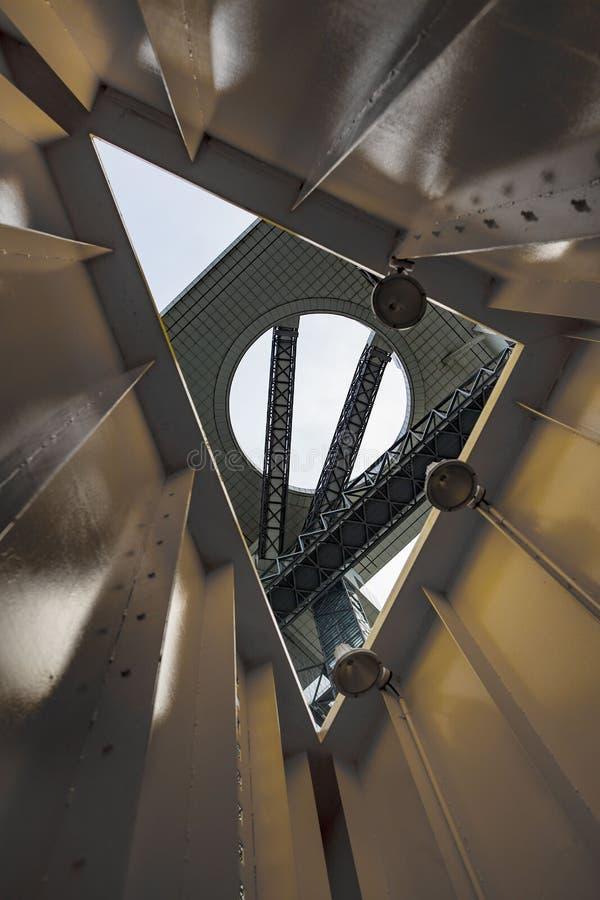 Cielo di Umeda che costruisce Osaka Japan immagine stock libera da diritti