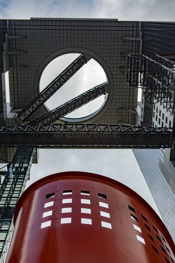 Cielo di Umeda che costruisce Osaka Japan immagine stock