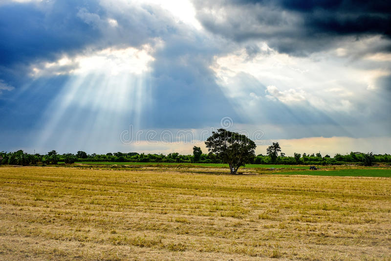 Cielo dopo pioggia immagini stock libere da diritti