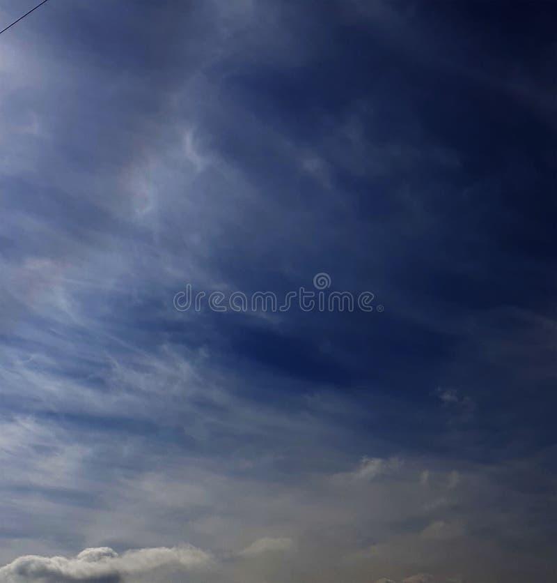Cielo e foschia fotografia stock libera da diritti