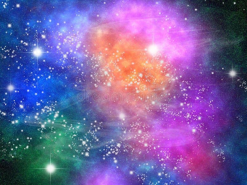 Cielo e stelle fotografie stock