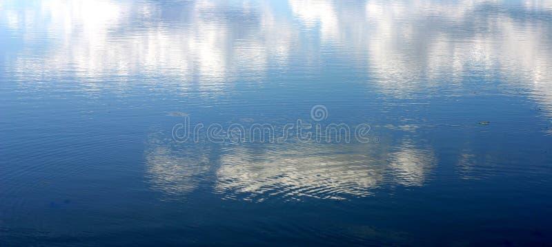 Cielo ed acqua immagini stock