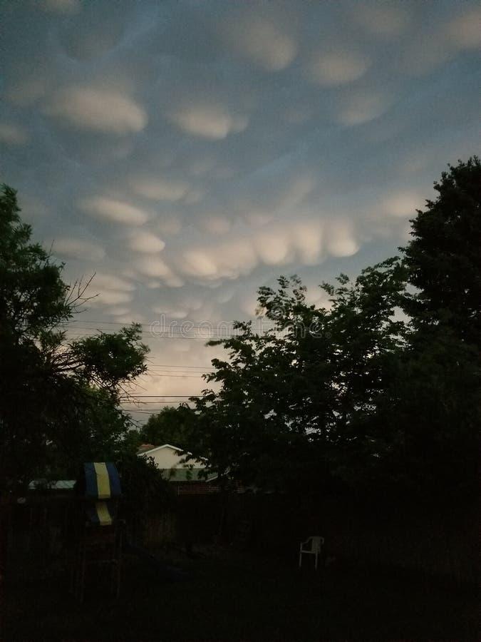 Cielo en mi patio trasero ¡Amor Colorado! fotografía de archivo libre de regalías