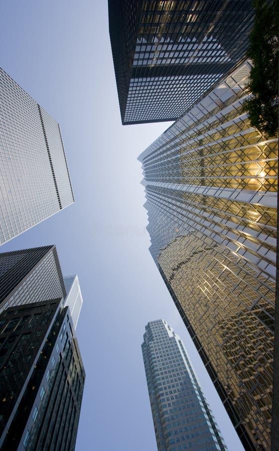 Cielo en Toronto imagen de archivo