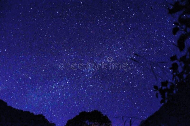 Cielo estrellado fotos de archivo