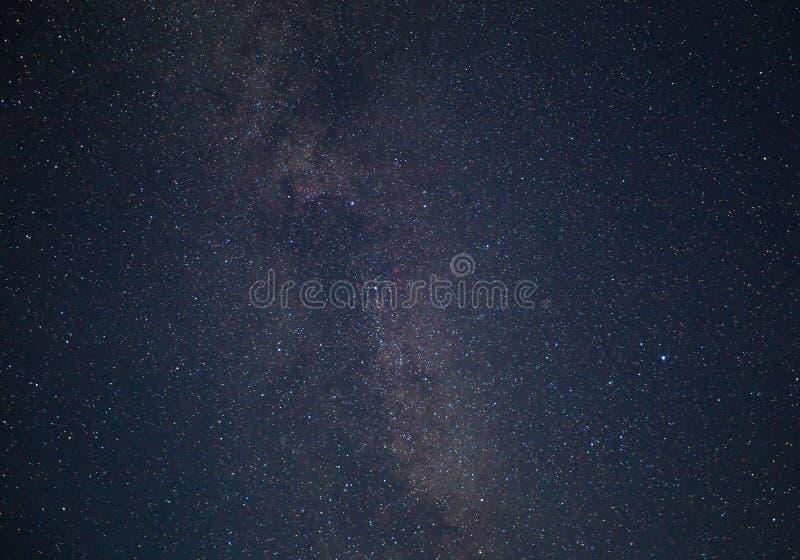 Cielo estrellado azul marino de la noche imagen de archivo libre de regalías