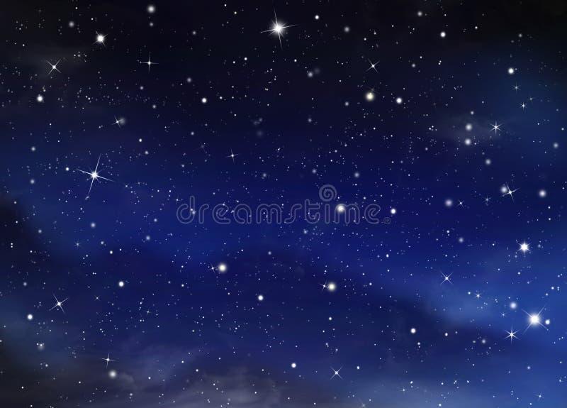 Cielo Estrellado Nocturno Foto De Archivo. Imagen De