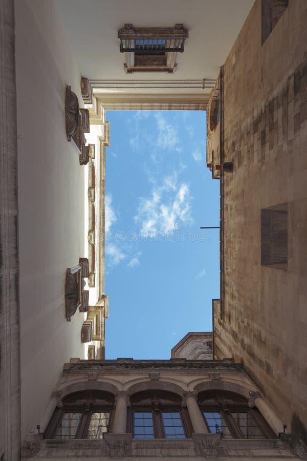 Cielo gótico de Barri imagen de archivo