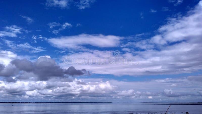 Cielo infinito fotos de archivo
