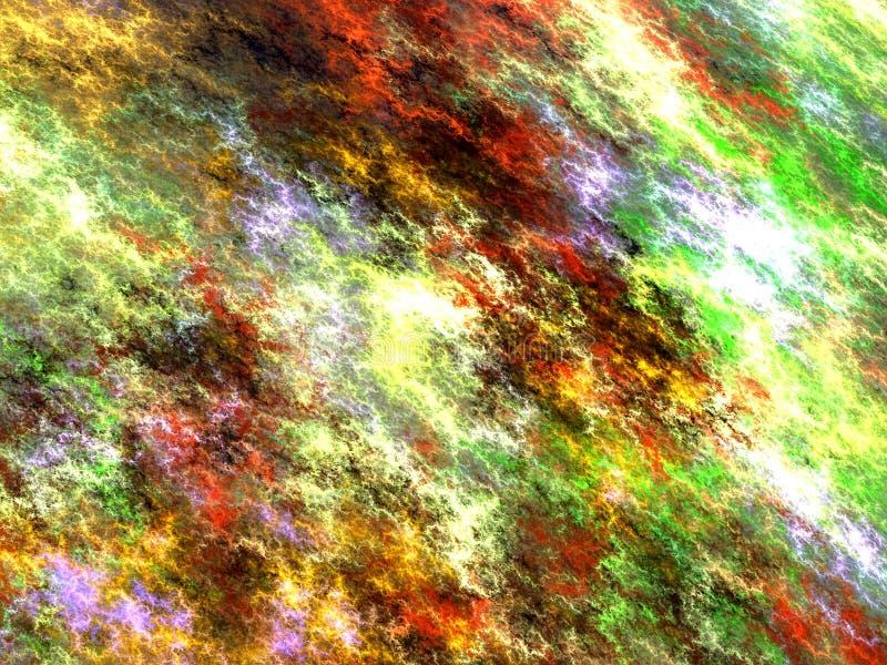Cielo irreale astratto - immagine digitalmente generata illustrazione di stock