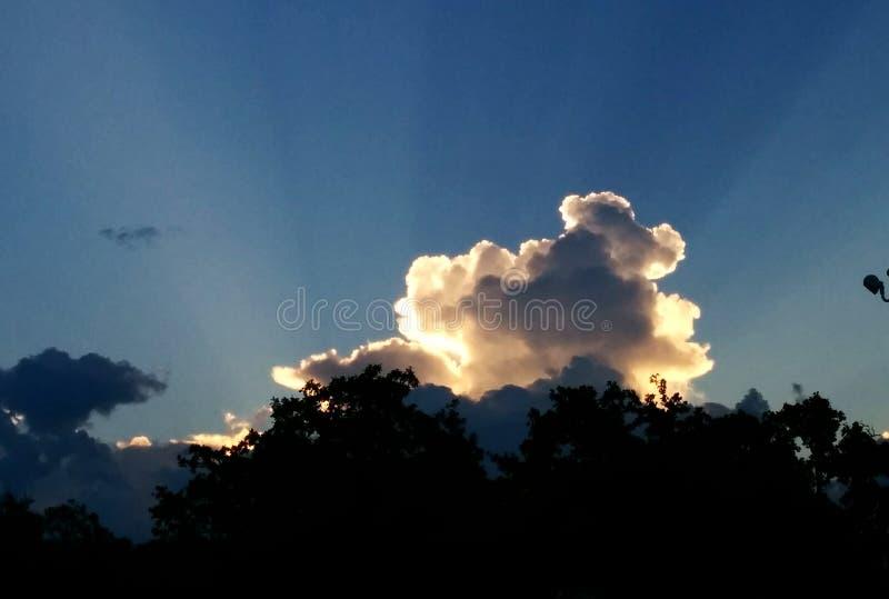 Cielo más allá fotografía de archivo libre de regalías