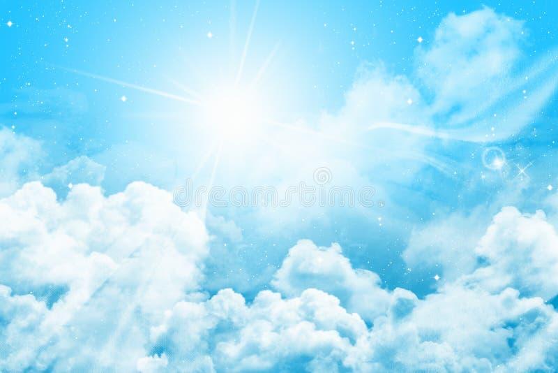 Cielo magico immagini stock libere da diritti
