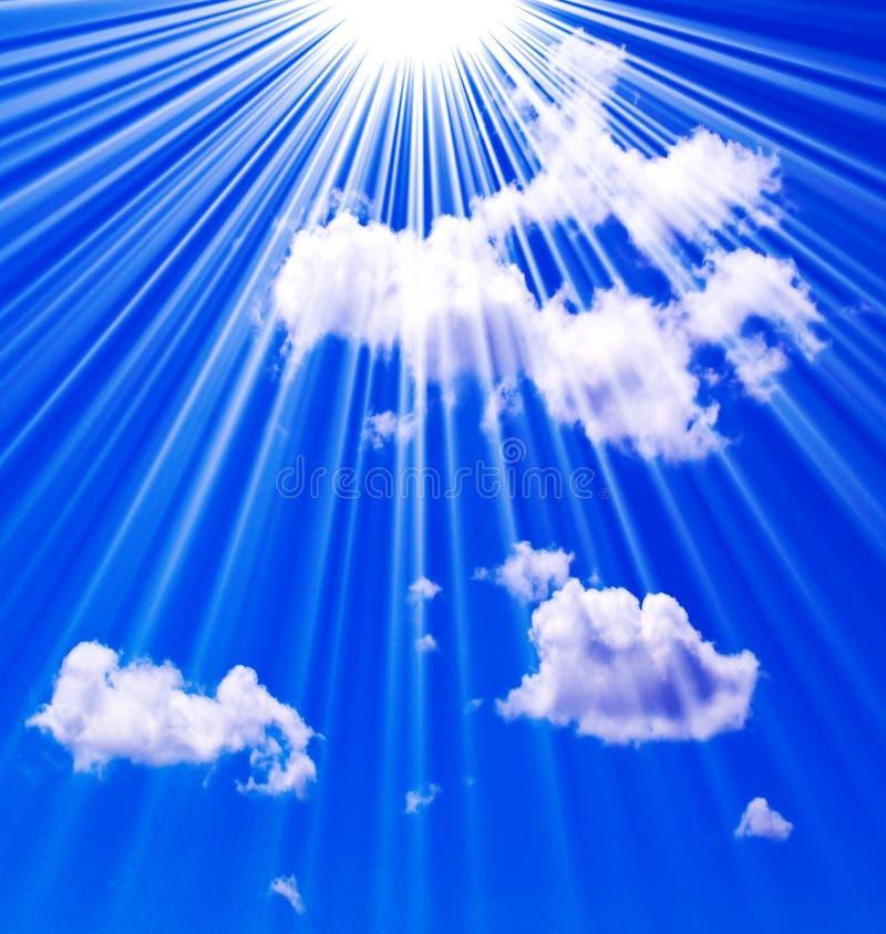 Cielo nel cielo fotografie stock libere da diritti