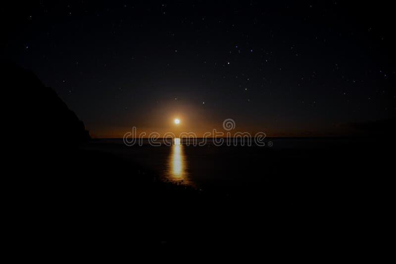 Cielo nocturno estrellado fotos de archivo libres de regalías