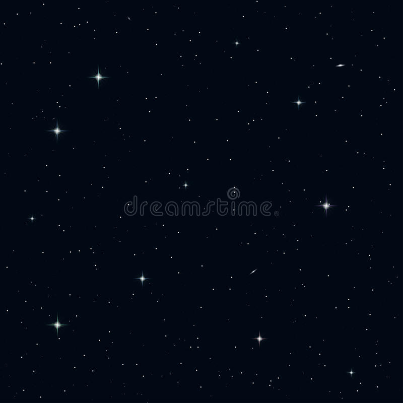 Cielo nocturno inconsútil libre illustration