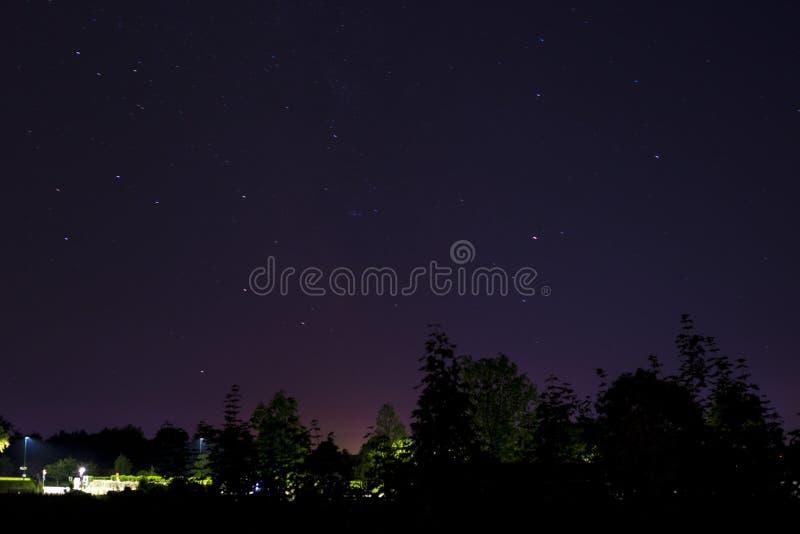 Cielo notturno fotografie stock