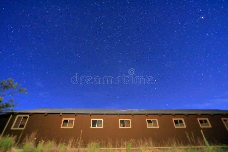 Cielo notturno con le stelle nel ¼ ŒHawaii del maunakeaï fotografie stock