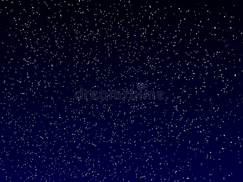 Cielo notturno di vettore illustrazione vettoriale